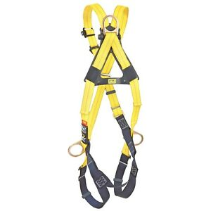Dbi Sala Delta Cross over Back Front Side D rings Fall Protection Harness Ea