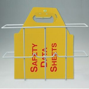 2 5 Right to know Jobsite Binder With Wire Rack
