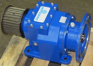 Motovario H 062 B3 9 39 1 Ratio In Line Helical Speed Reducer Gearbox