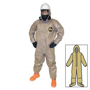 Kappler Zytron 300 Hood Boots Boot Flaps Elastic Wrists Chemical Coveralls Only