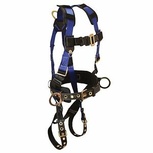 Ns Foreman Back Side D rings Tongue Buckle Leg Straps Fall Protection Harness