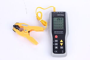 4 channel K type Digital Thermometer 200 1372 c Thermocouple Sensor W pipeclamp