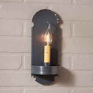 Foot Sconce Single Arm In Country Tin By Irvin S Country Tinware