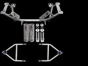 1979 1993 Ford Mustang Upr Tubular K Member Adjustable A Arm Kit New Look Wow