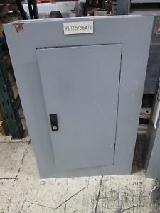 Ge Main Circuit Breaker Panel Aqf3181at 125a 208y 120v 3ph 4w Used