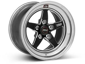 2007 2008 2009 2010 2011 2012 Mustang Gt500 Weld Rts Rt S Forged Black 15 X10