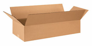25 18x12x6 Cardboard Shipping Boxes Flat Corrugated Cartons