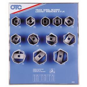 Otc Truck Wheel Bearing Locknut Sockets 6 Point 8 Point Variation 3 4 Drive