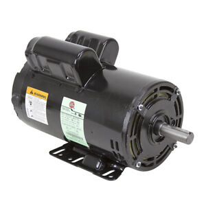 5 Hp 230 Volt Ac 3450 Rpm Us Motors Air Compressor Motor 10 2621