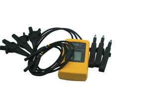Fluke 9040 Phase Rotation Indicator Meter Tester 3 Phase 10 700vac New