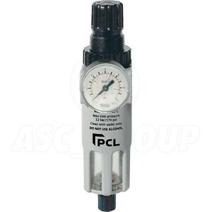 Pcl Professional Air Tools 1 4 Filter Regulator Air Line High Quality Atc6