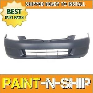New 2003 2004 2005 Honda Accord Sedan Front Bumper Painted To Match Ho1000210
