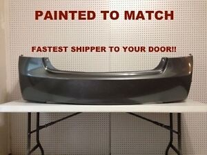 New 2006 2007 2008 2009 2010 New Honda Civic Sedan Rear Bumper Painted Ho1100235