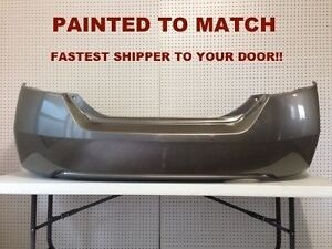Fits 2006 2007 2008 2009 2010 2011 Honda Civic Coupe Rear Bumper Painted