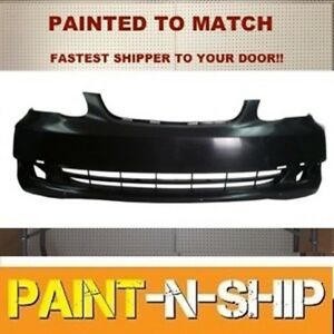 Fits 2005 2006 2007 2008 toyota Corolla Ce Front Bumper Painted to1000297