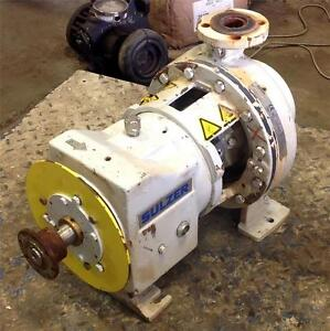 Sulzer Process Pumps 55ft 120gpm 1770rpm 1 1 2 X 3 Centrifugal Pump Cpt 21 1b