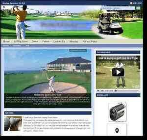golfing Turnkey Website For Sale turnkeypages