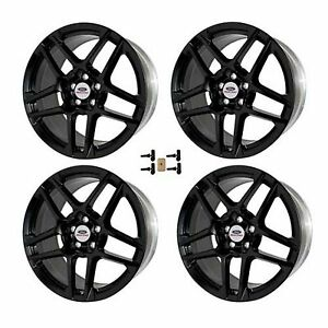Ford Racing 2014 Mustang Svt 19x9 5 Wheel Set With Tpms Kit M 1007kit sa1995