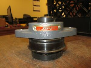 Sealmaster Flange Bearing W Insert Sft 16 Er 22t Mounted 2 bolt Used