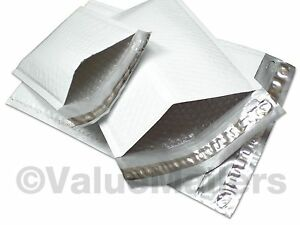 250 Poly 1 7 25 x12 Ajvm Bubble Mailers Padded Envelopes Bags 100 Recyclable