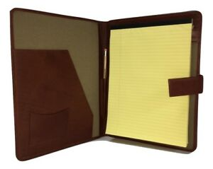 Executive Leather A4 Folder Portfolio With Personalisation Option Pa124
