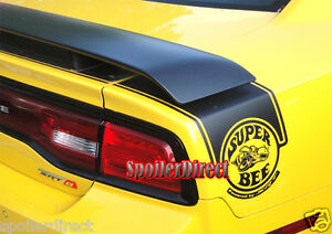 Dodge Charger Srt srt8 Factory Super Bee Style Spoiler Painted