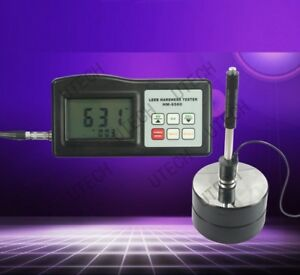 New Hm 6560 Portable Rebound Leeb Hardness Tester Meter For Metal Steel