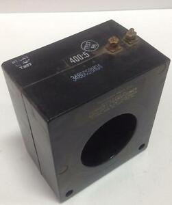 Westinghouse 400 5 600v 50 400hz Current Transformer 3486c98h04