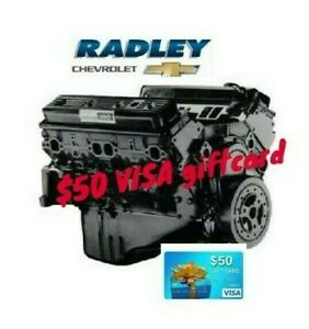 Gm Oem New Chevrolet Truck Engine 12568758 Goodwrench 350em Dealer Direct