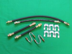 Jeep Willys Mb Gpw Cj2a 3a Cj3b M38 M38a1 Brake Hose Kit