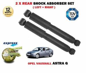 For Vauxhall Astra G 1998 2006 New 2x Rear Left Right Shock Absorber Set