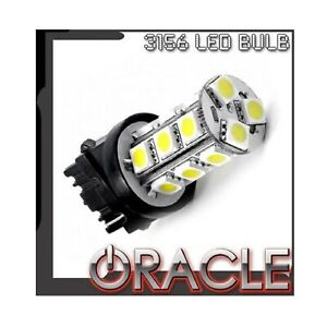 Oracle 5101 001 Single 3156 18 Led 3 chip Smd Bulb Cool White