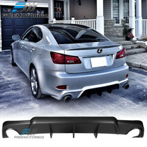 Fits 06 13 Lexus Is250 Is350 Dmr Style Rear Bumper Lip Diffuser Poly Urethane