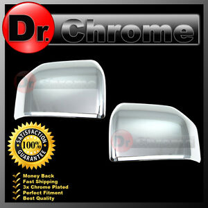 2015 2017 Ford F150 Truck Triple Chrome Abs Mirror Cover Top Half 1 Set 16 17