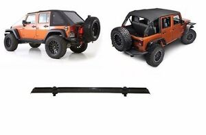 2007 2017 Jeep Wrangler Frameless Bowless Top Windshield Channel Kit 9083235