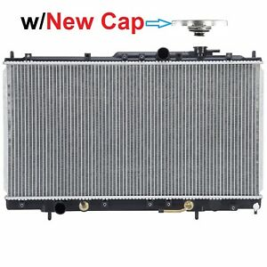Radiator W Brand New Cap 2300 For 1999 2003 Mitsubishi Galant 2 4 L4