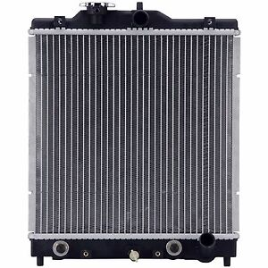 Radiator W brand New Cap 1290 Fit 92 00 Honda Civic 1 5 1 6 Automatic Trans Only