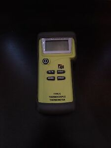 Tpi Digital Thermometer 343 Type K Thermocouple Thermometer