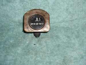 1920 S Ac Speedometer Vintage Antique Model T Era Ac Spark Plug Co