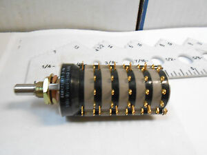44my231875 3 04n Grayhill Rotary Switch Lenth 3 1 2 dia 1 1 115v 28v Nos