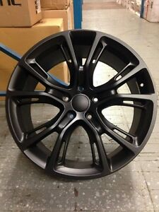 4 New Jeep Srt8 20 Wheels Matte Black 5x115 Oe Dodge Charger Challenger 300