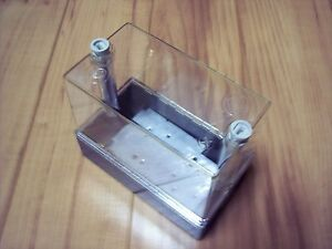 5 Weatherproof Electrical Enclosure Box Plastic Clear 5 3 4 X 2 7 8 X 4 3 4