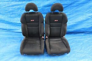 2006 06 Honda Civic Si Coupe Fg2 Oem Lh Rh Front Seats Pair Assembly K20z3 9114