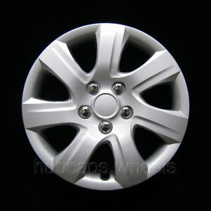 New Hubcap For Toyota Camry 2010 2011 Premium Replica 16 Inch Silver 61155