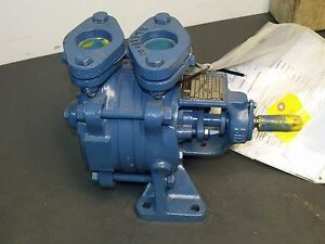 Sterling Sihi Aoh 3601 Side Channel Self Priming Pump 1 1 2 Npt Ports