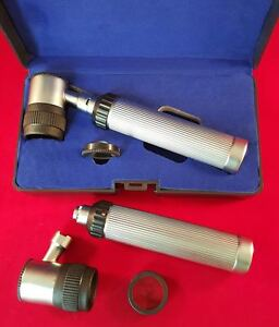 New Professional Dermatology Skin Diagnostic Dermatoscope Set Dermal Instruments