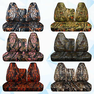 Cc Ford F150 40 60 Top W Molded Headrest And Solid Bench Bottom Camouflage