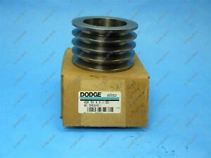 Dodge 455302 4gr 5v 4 90 sd Qd Sheave 4 Belt Pulley Cast Iron 5vx 4 9 Od New