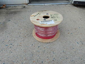 Encore Wire 10 Awg Machine Tool Wire Mtw awm tew Red 500 Foot Roll