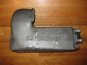 Jaguar Xjr Xkr Supercharged Air Induction Intake Manifold Passenger right